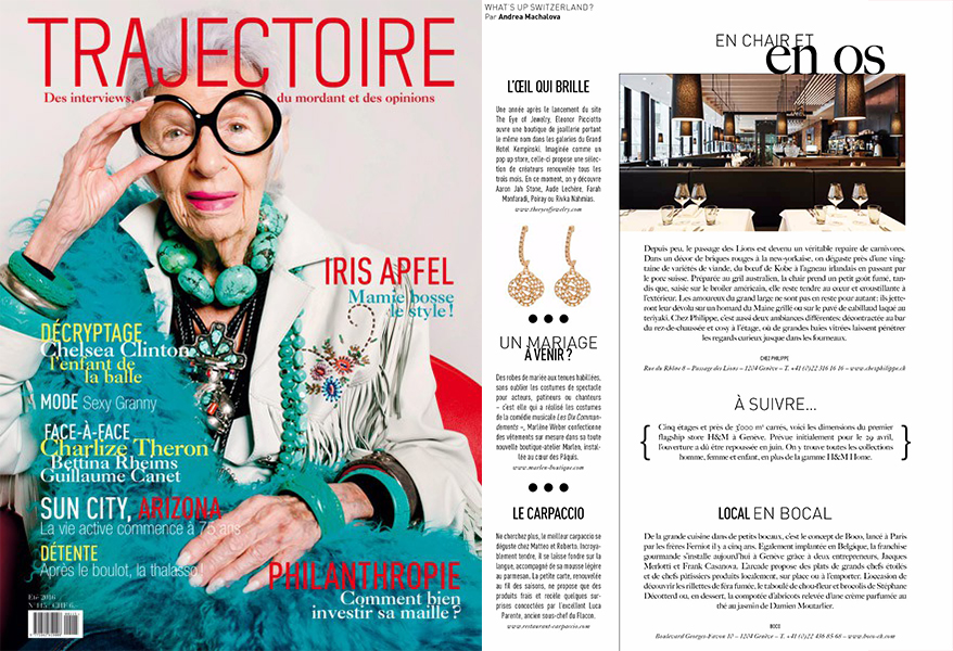 trajectoire magazine the eye of jewelry