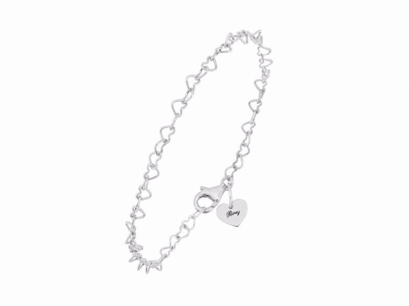 "Poiray This bracelet from ""Coeur"" collection mounted on white gold is available at the Pop Up - CHF 445"