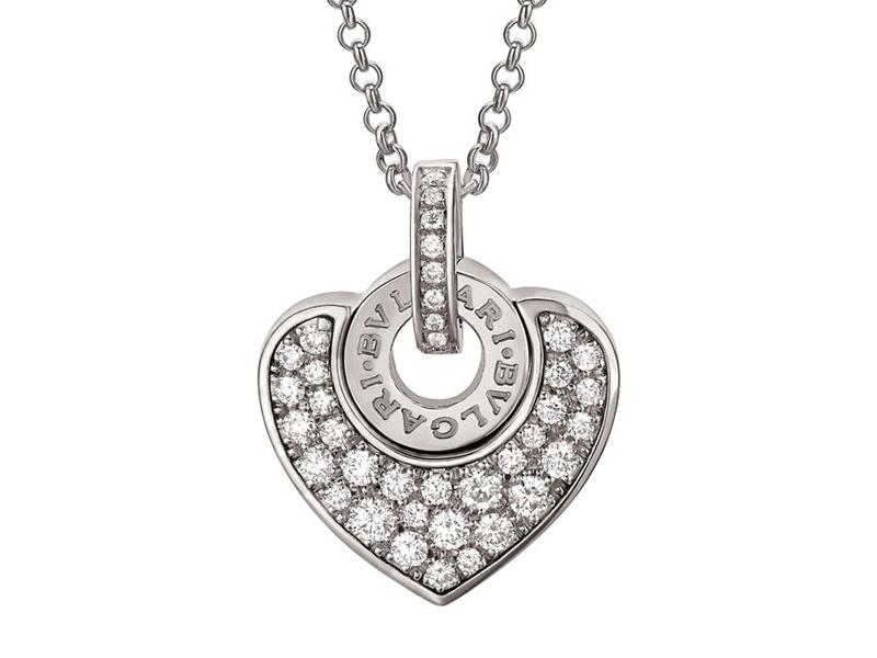 Bvlgari Bvlgari- Bvlgari Cuore full diamond pendant
