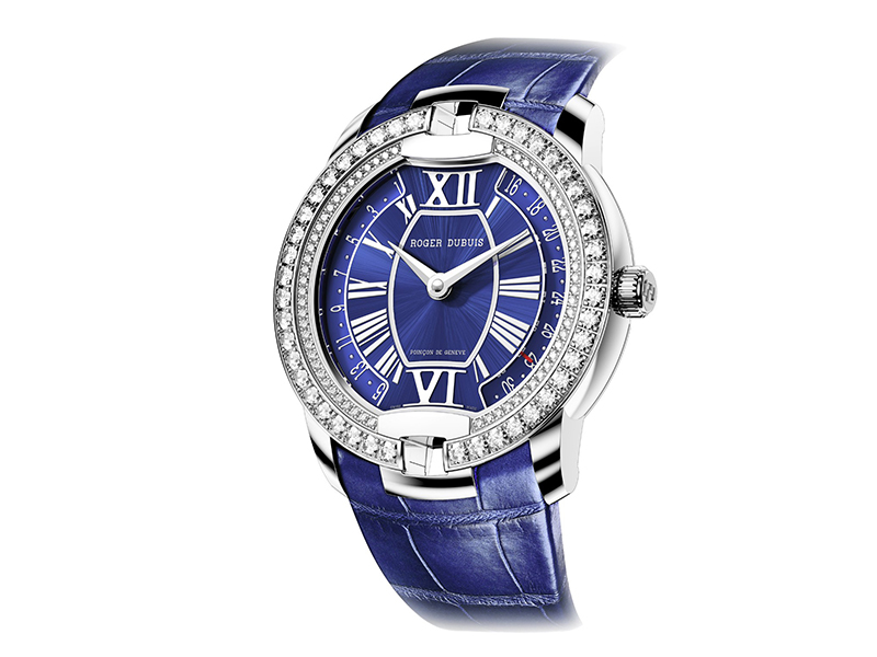 Roger Dubuis velvet secret heart diamonds watch