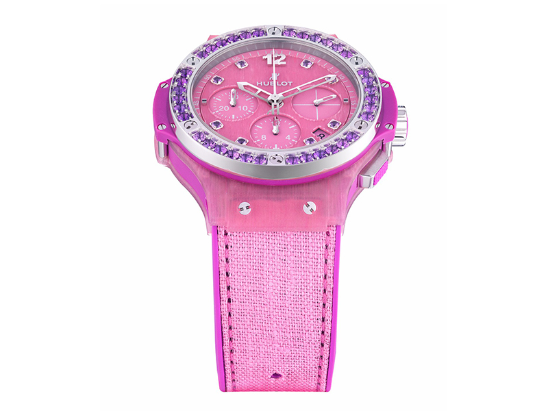 Hublot From Big Bang Tutti Frutti Linen collection - Purple
