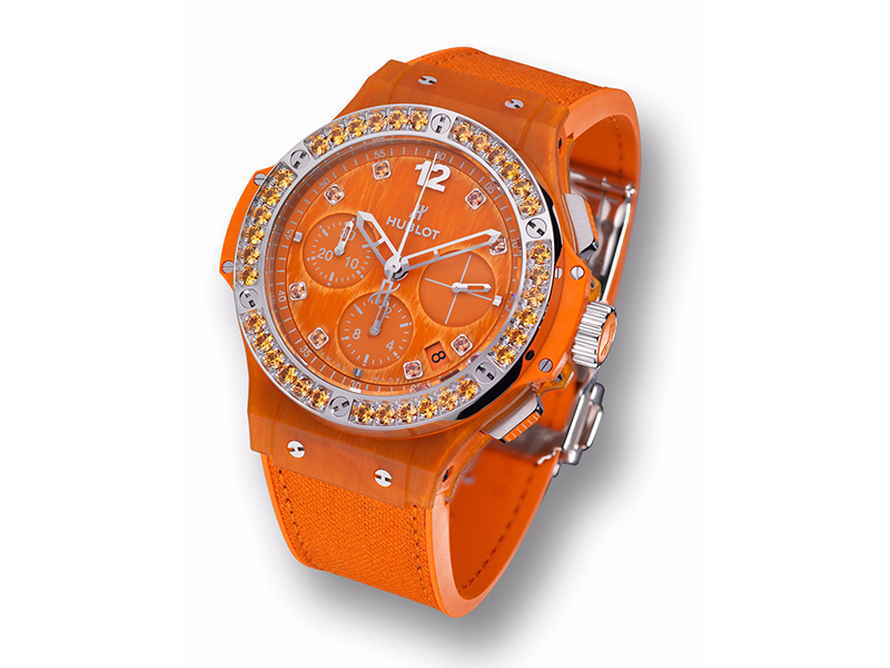 Hublot From Big Bang Tutti Frutti Linen collection - Orange