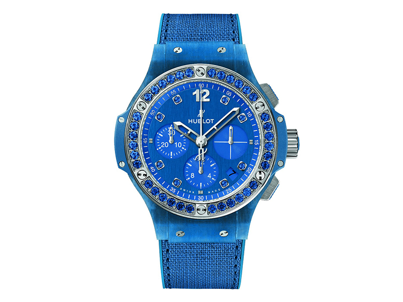 Hublot From Big Bang Tutti Frutti Linen collection - Ocean Blue
