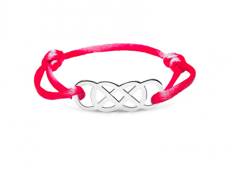 Infinity by Victoria Ibiza Silver - Red is available at the Pop-Up, CHF 150.-
