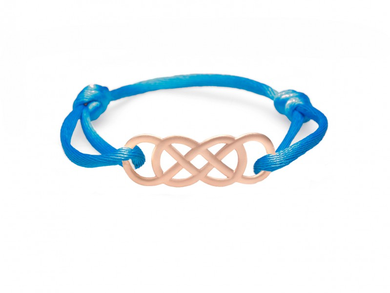 Infinity by Victoria Ibiza Pink Gold - Royal Blue is available at the Pop-Up, CHF 300