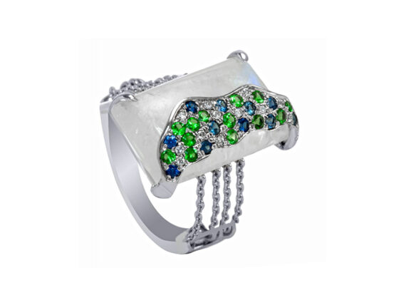 Laura Medine Confetti Ring