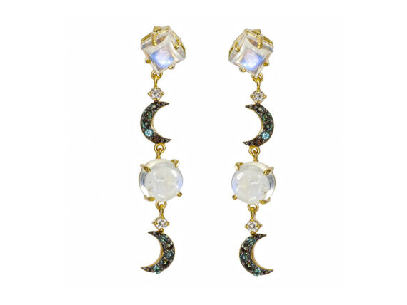 Laura Medine Celestial earrings