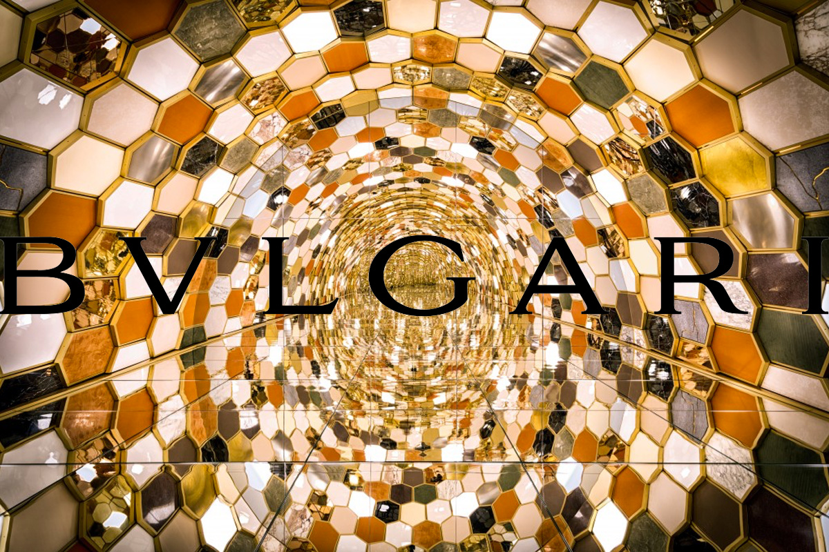 Bvlgari image with the logo of the brand