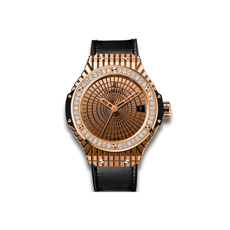 Hublot Big Bang Caviar gold diamonds