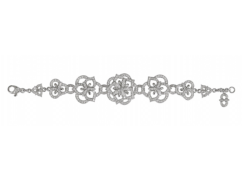 Vanessa Martinelli Arabian nights - Diamond bracelet mounted on white gold