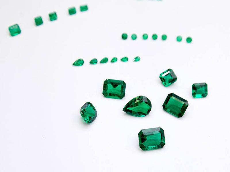 Muzo Individual gemstones