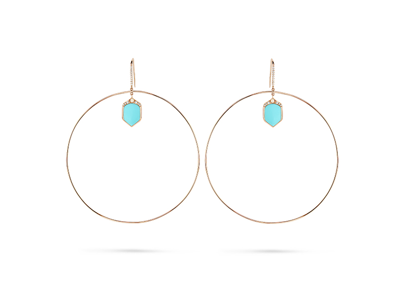 Joelle Jewellery ND05 Hoops