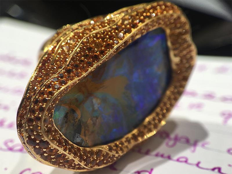 Lydia Courteille Sahara ring