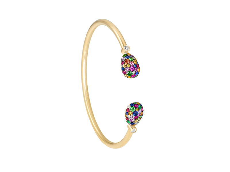 Fabergé Emotion Multi-coloured Bangle