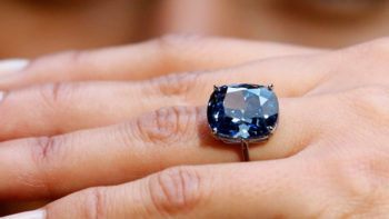 Extraordinary Diamonds: Sotheby's Blue Moon and Christie's Vivid Pink