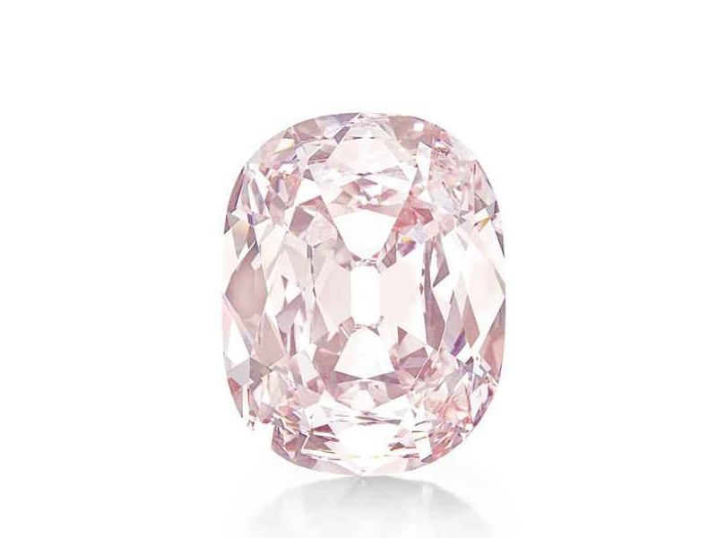 The Princie In honor of Baroda's Prince this gem was discovered in India in the Golconda's mine and was sold for 39.3 Mio dollars.