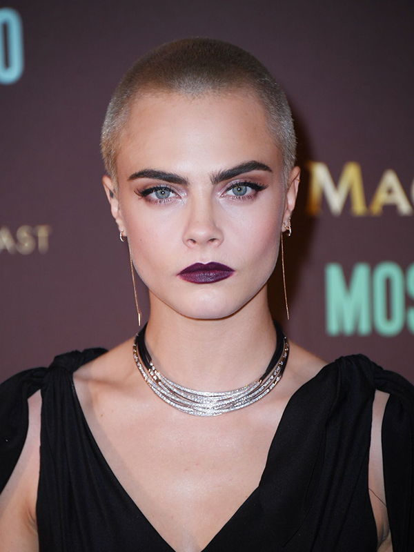 De Grisogono Cara Delevigne wore Allegra necklace and rings.