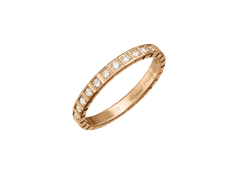 Chopard Ice Cube Pure rose gold ring