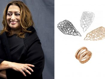 When architecture meets jewelry design: Discover Zaha Hadid's exlusive collections in collaboration with Bulgari and Caspita