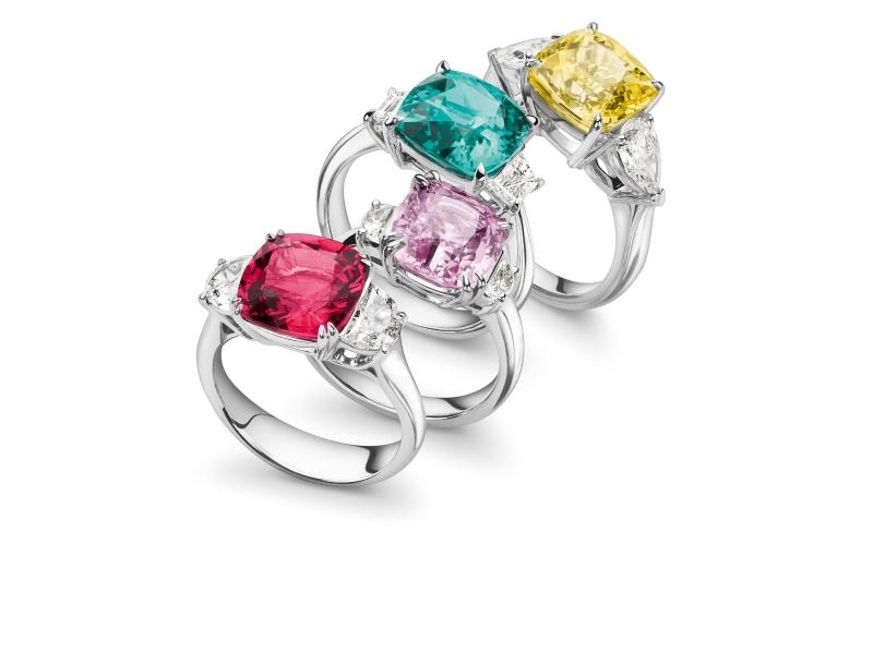 Bucherer Multi-colored rings