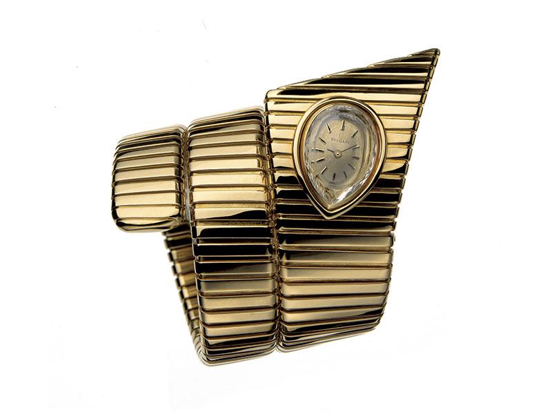 Bvlgari Tubogas Bracelet Watch, 1972