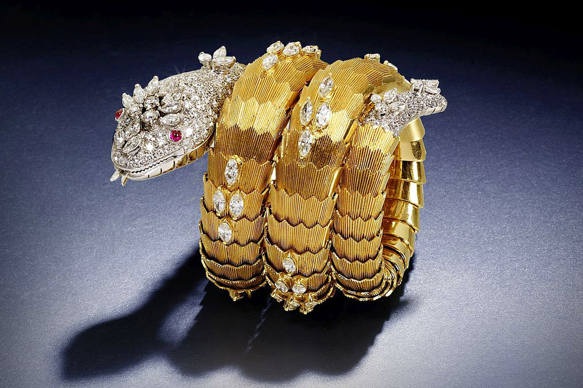 Bvlgari Vintage Jewelry Serpenti