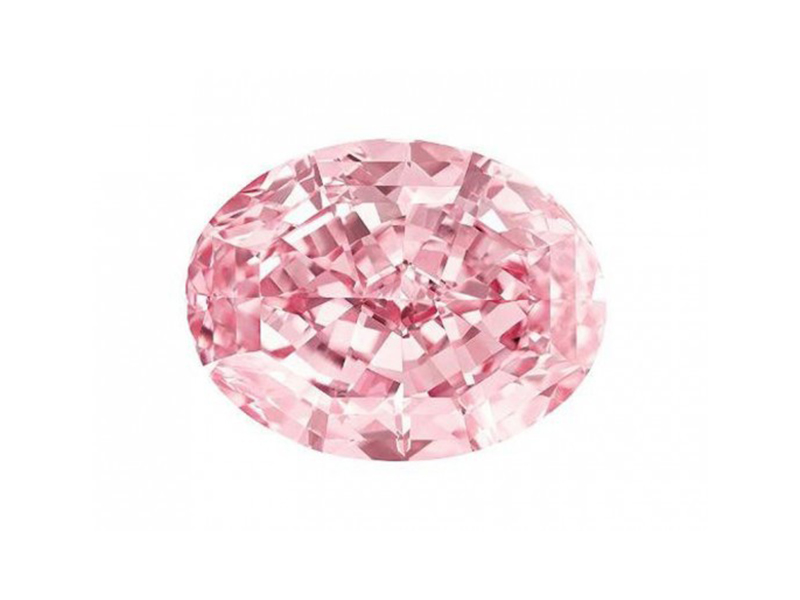 Pink star Discovered in Africa in 1999, the Pink Star diamond weighed 132.5 Carats and was sold for a world record price of $83 million in November, 2013 at during the Sotheby's Geneva Magnificent Jewels auction.