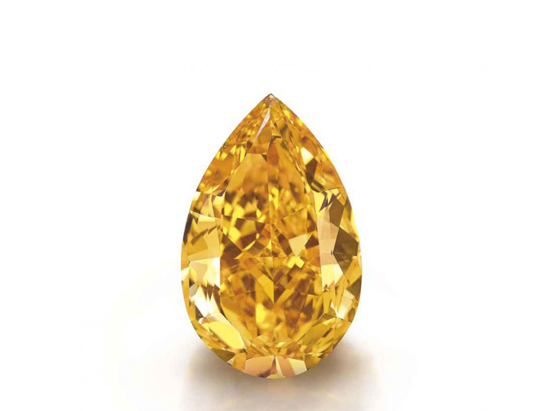 The Orange From South Africa this gem with 14.82 Carats was sold for 35 Mio dollars.