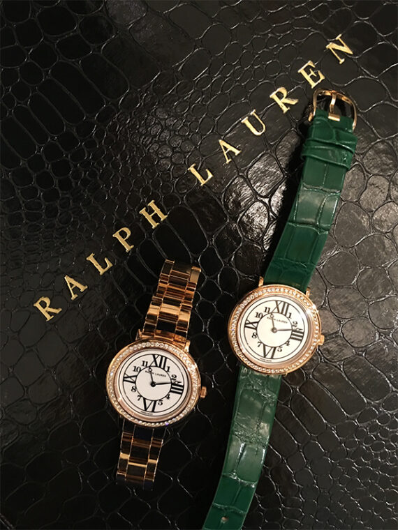 Two Ralph Lauren Watches