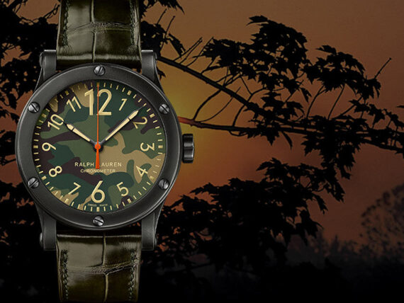 Ralph Lauren Watch Safari chronometer