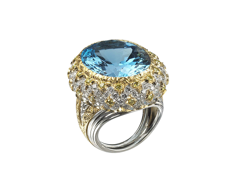 Buccellati Cocktail ring