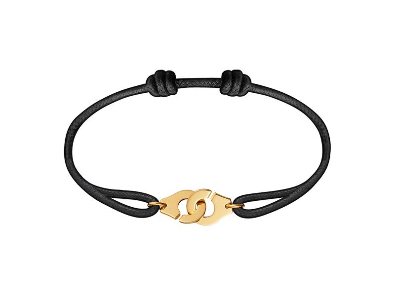 Dinh Van Yellow gold Menotte cord bracelet