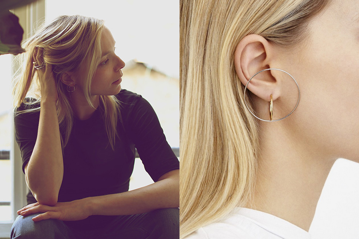jewelry platform earrings charlotte chesnais en collection