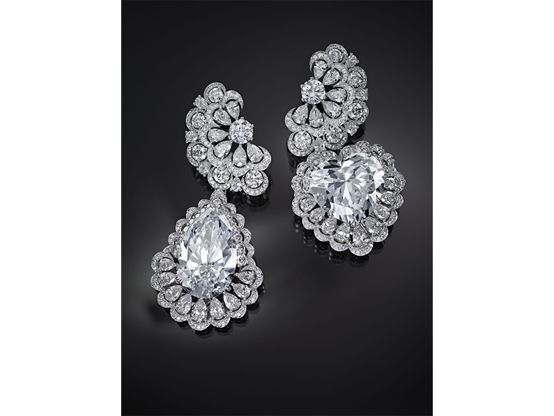 Chopard The Queen of Kalahari earrings