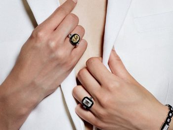 Nikos Koulis' Oui collection:  a collection of unique engagement rings you cannot resist