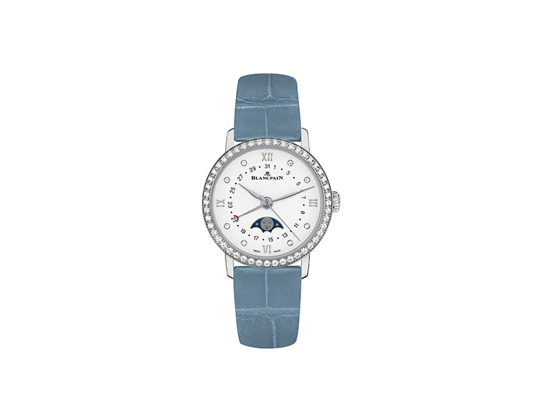 Blancpain Blue Moonphase watch