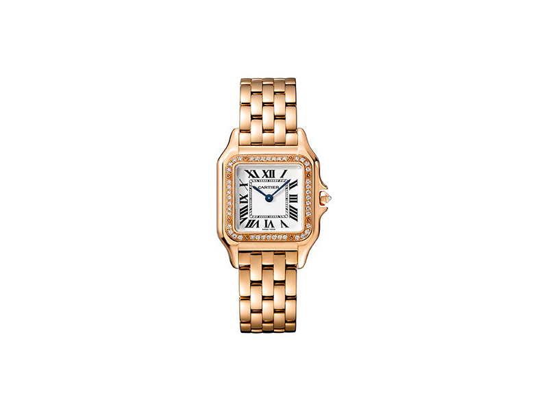 Cartier Panthère de Cartier watch diamonds gold