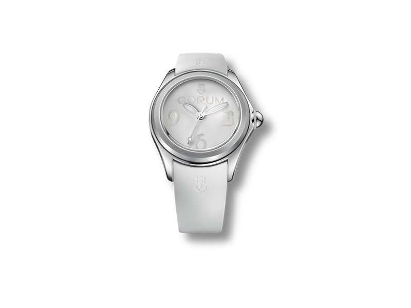 Corum Bubble white watch