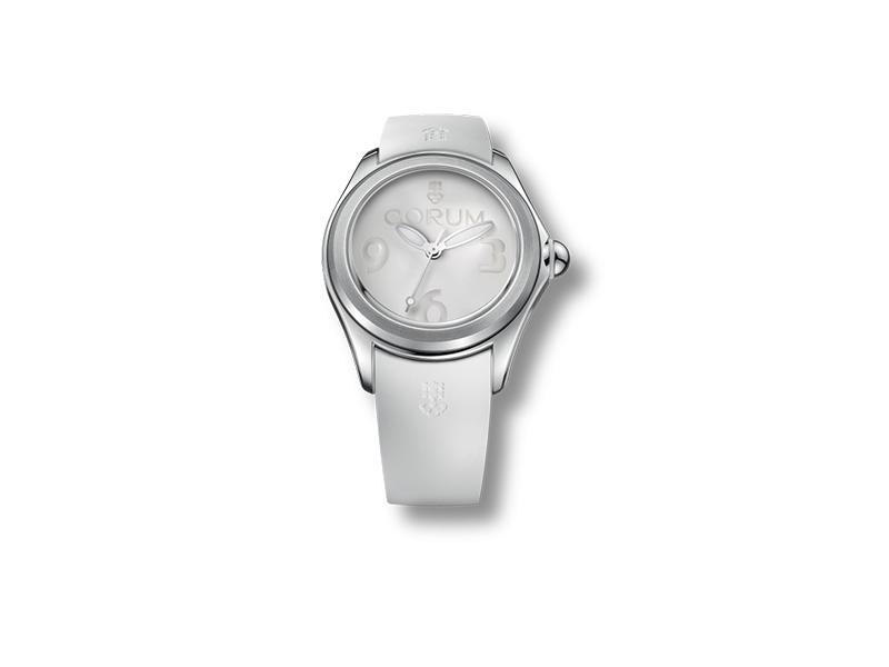 Corum Bubble white watch
