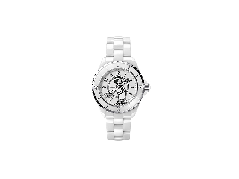 Chanel Mademoiselle J12 watch
