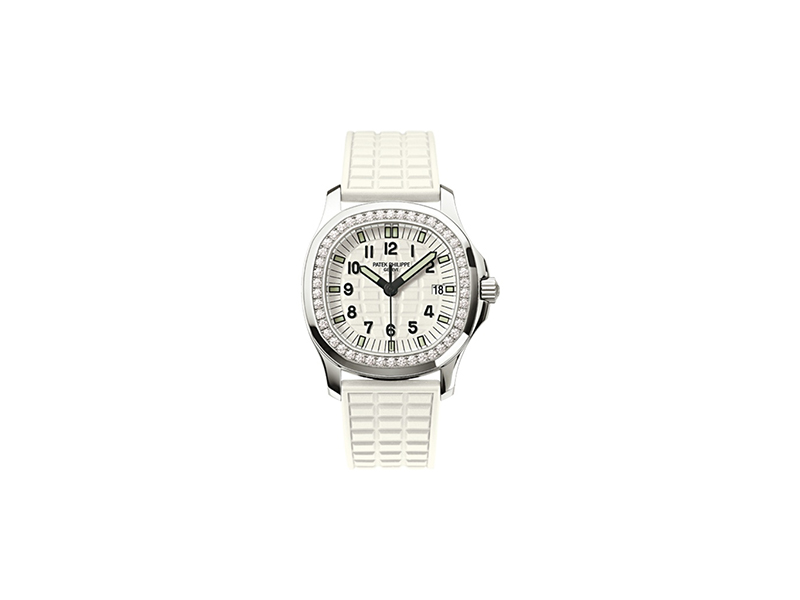 Patek Philippe Aquanaut Luce white watch
