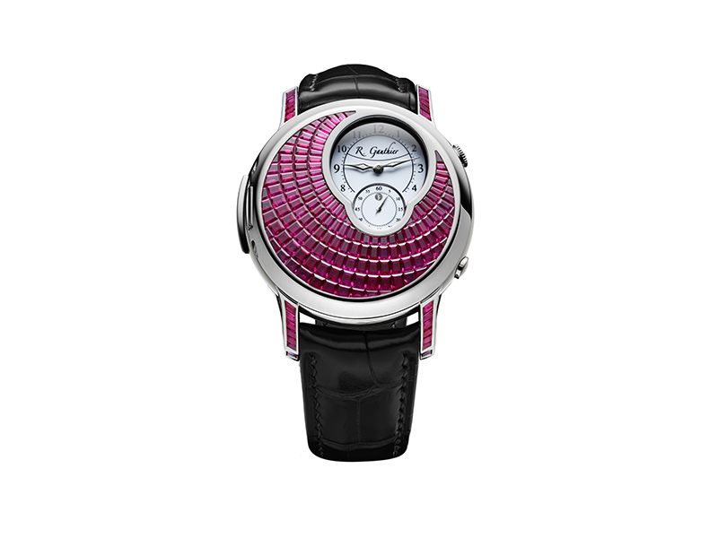 Romain Gauthier Logical One secret rubies (1 piece)