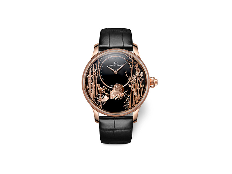 Jaquet Droz Loving Butterfly Automaton watch