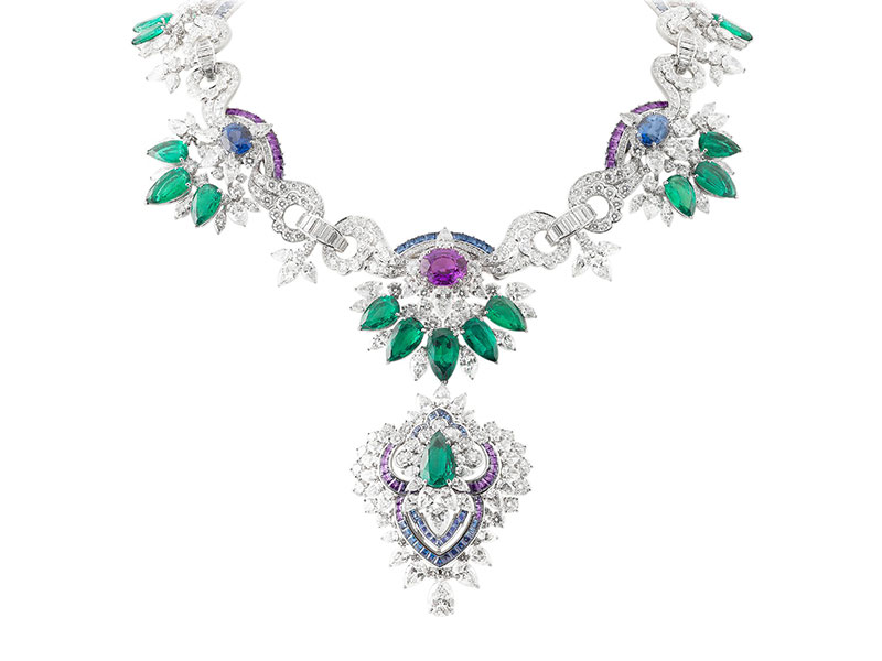Van Cleef and Arpels (f) Acapulco necklace with detachable clip, Pierres de Caractère – High Jewelry Collection, 2014