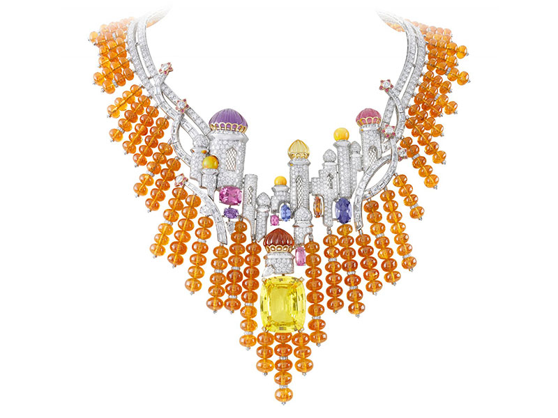 Van Cleef & Arpels Izmir necklace. Bals De Legende collection, 2012.