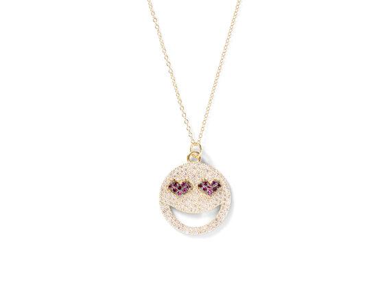 Alison Lou - Bling Love Struck necklace