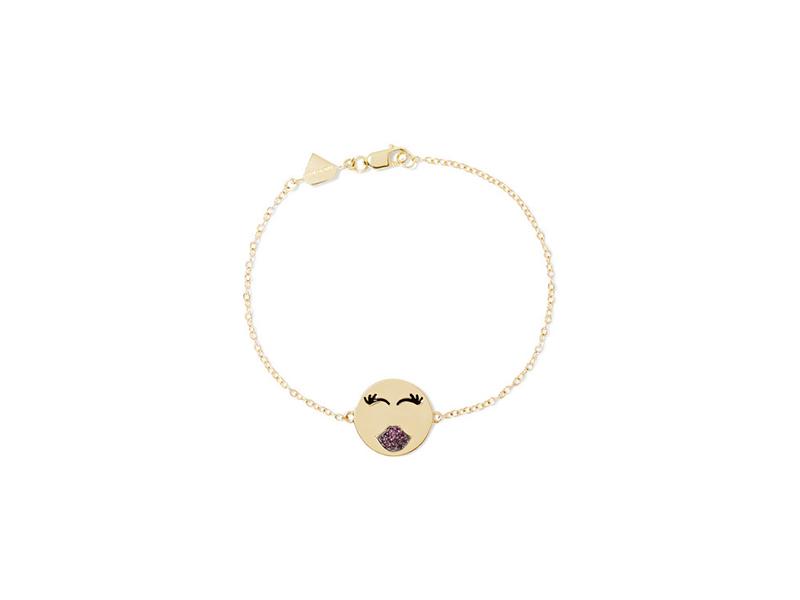 Alison Lou Mwa bracelet ruby lips
