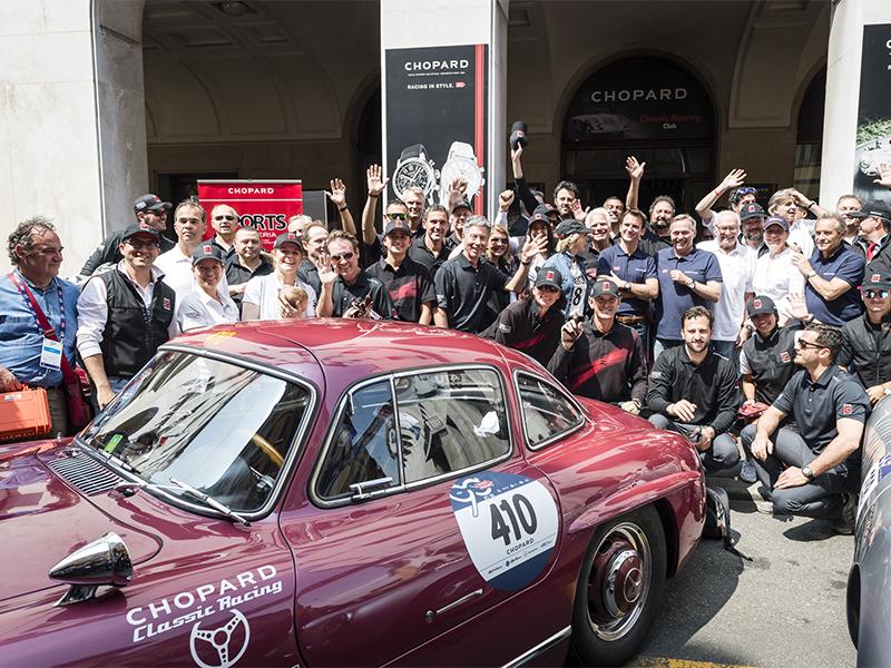 Chopard Mille Miglia 2017 car