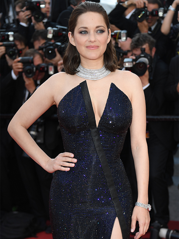 Chopard Marion Cotillard wore a Chopard Diamonds necklace. Cannes 2017 red carpet