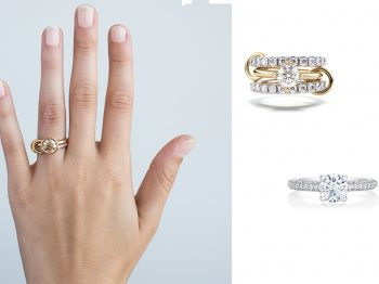 Who doesn't want to get married now with such cool engagement rings?